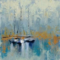 Boats in the Harbor III Fine-Art Print