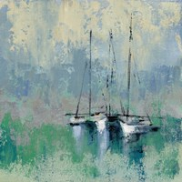 Boats in the Harbor II Fine-Art Print