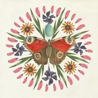 Butterfly Mandala II Fine-Art Print