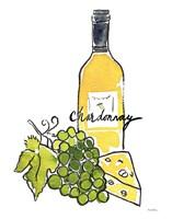 Wine Time IV Chardonnay Fine-Art Print