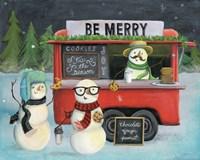 Christmas on Wheels III Light Fine-Art Print
