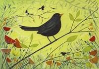 Spring Blackbird 2 Fine-Art Print