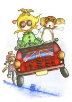 Minnie Driver Fine-Art Print