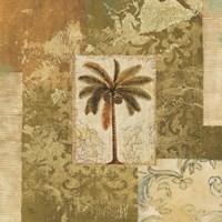 Palm Patchwork I Fine-Art Print