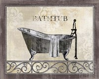 Bath Silhouette II Fine-Art Print