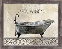 Bath Silhouette IV Fine-Art Print