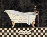 French Bathtub I Fine-Art Print