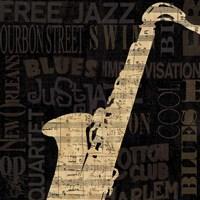Jazz Improv II Fine-Art Print