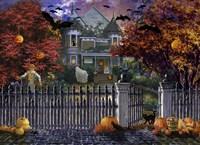 Halloween House Fine-Art Print