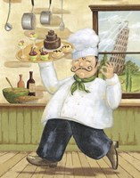 Happy Chef II Fine-Art Print
