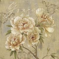 Vintage Petals I Fine-Art Print