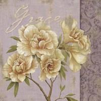 Vintage Petals V Fine-Art Print