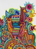 Alpaca From Mexico Fine-Art Print