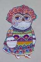 Mexican Folk Owl Fine-Art Print