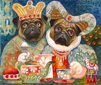 Family Pugs A Fine-Art Print