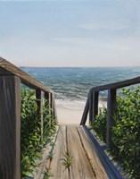 Beach Walk Way Fine-Art Print