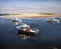 Cape Cod Fishing Boats Fine-Art Print