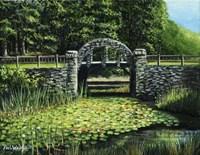 Garden Bridge Fine-Art Print