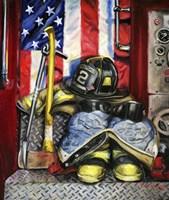 Symbols Of Heroism Fine-Art Print