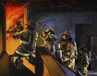Fire Floor Fine-Art Print