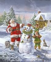 Christmas Friends Fine-Art Print