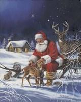 Santa's Love Fine-Art Print