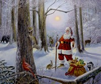 Christmas In The Forest Fine-Art Print