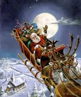 Santas Big Night Fine-Art Print