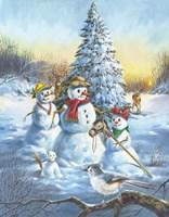 Snow Bird Fine-Art Print