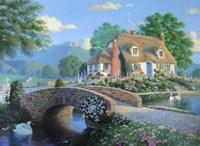 Country Bridge Fine-Art Print