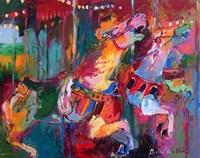 Carousel Horse 4 Fine-Art Print