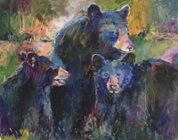 Bear Family Fine-Art Print