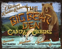 Big Bear Den Fine-Art Print