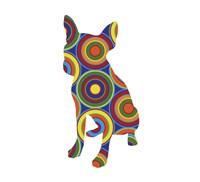 Chihuahua Abstract Circles Fine-Art Print