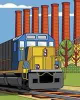 Homestead Steel Mill Stacks Fine-Art Print