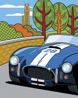 Pittsburgh Vintage Grand Prix Fine-Art Print