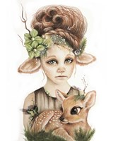 Faline - Only Friend In The World Fine-Art Print