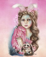Bunny - Only Friend in the World Fine-Art Print