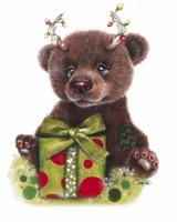 Bruno Bear, Rudolph Fan Fine-Art Print