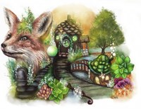 Fox Cottage Fine-Art Print