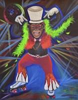 Funky Pinky Monkey Fine-Art Print