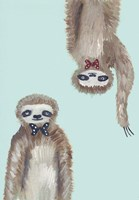 Hipster Sloths Fine-Art Print