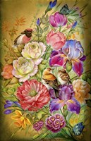 Flowers & Birds Fine-Art Print