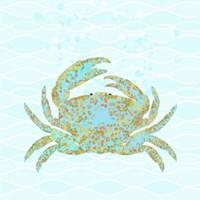 Kramer Crab Framed Print