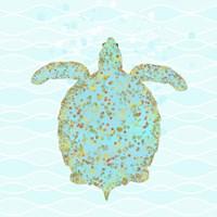 Tucker Turtle Framed Print