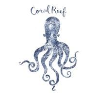 Octopus Coral Reef Fine-Art Print