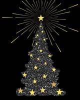 Park Avenue Starry Christmas Tree Fine-Art Print