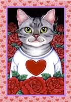 Cat Roses Fine-Art Print
