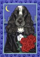 Cocker Spaniel Tuxedo Fine-Art Print