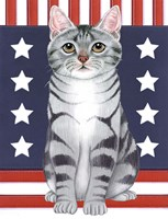 Patriot Cat Fine-Art Print